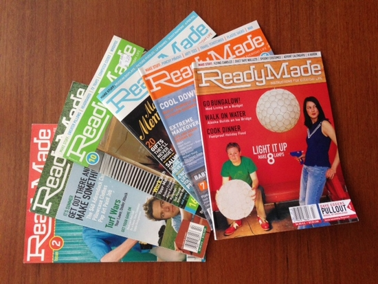 RIP Readymade: the raddest DIY, culture and living magazine that was.