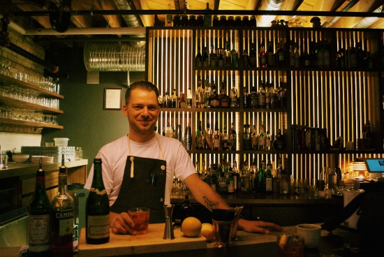 Forth's barkeep: Josey Krahn