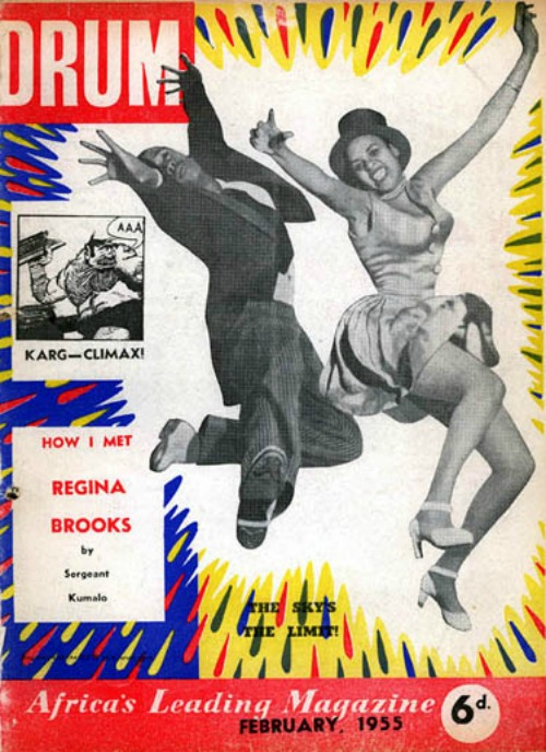 Do you have a place that makes you feel like this fantastic vintage Drum magazine cover?